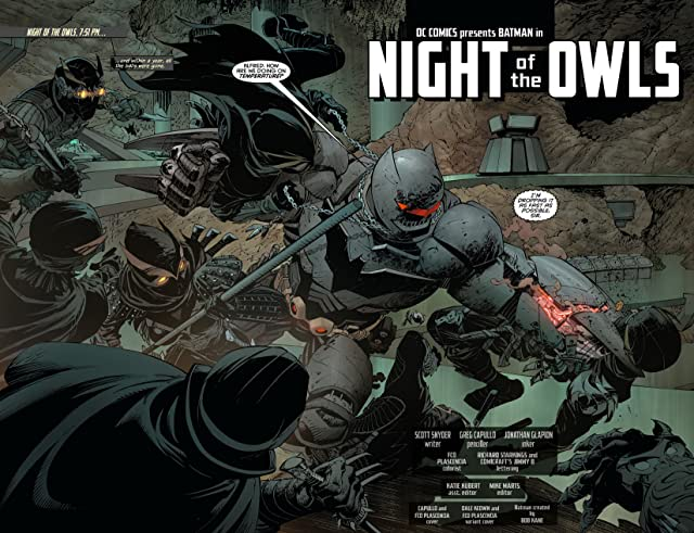 click for super-sized previews of Batman (2011-) #9
