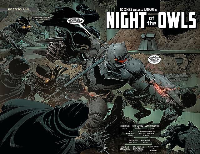 click for super-sized previews of Batman (2011-) #9