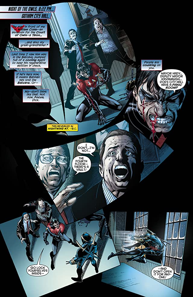 click for super-sized previews of Nightwing (2011-2014) #9