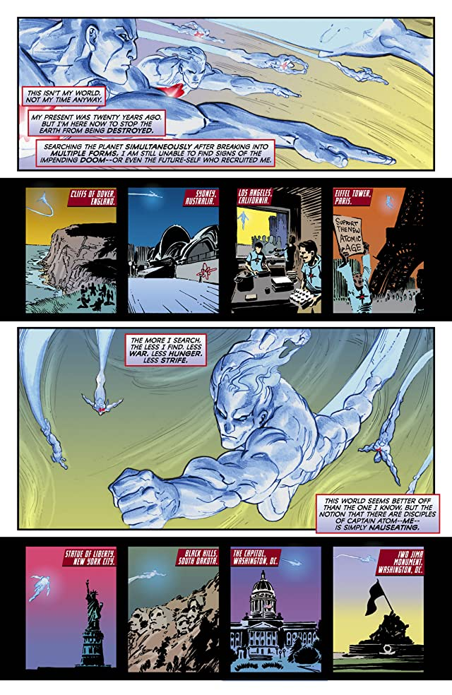 click for super-sized previews of Captain Atom (2011-2012) #9