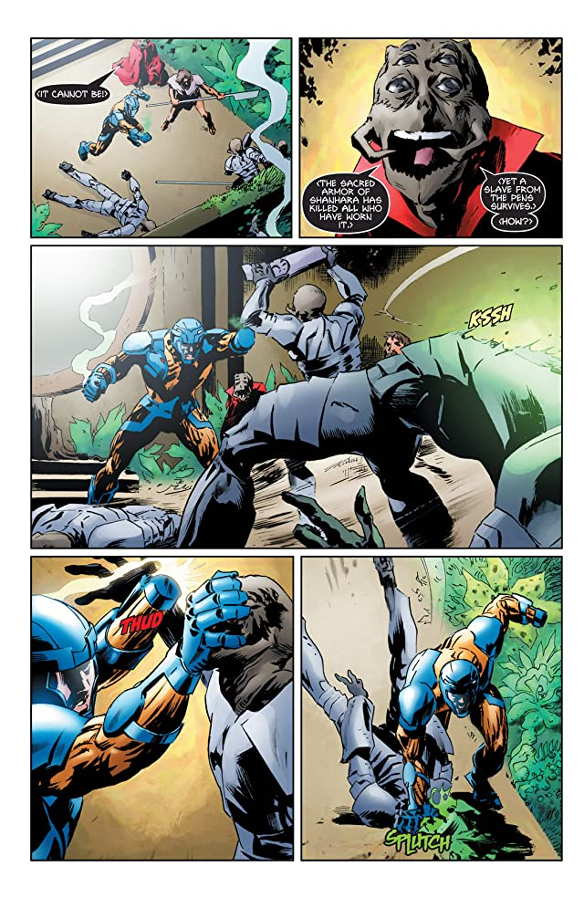 click for super-sized previews of X-O Manowar (2012- ) #3: Digital Exclusives Edition
