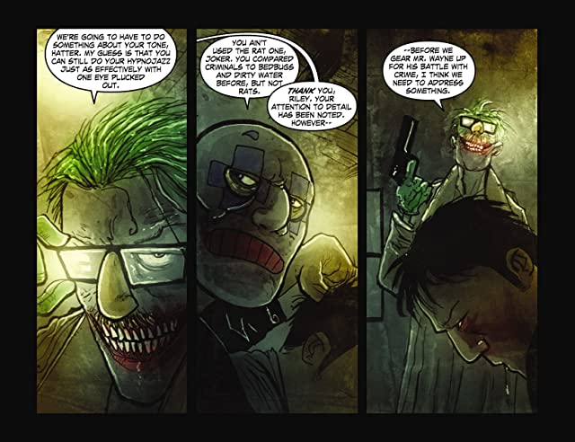 click for super-sized previews of Legends of the Dark Knight (2012-) #6