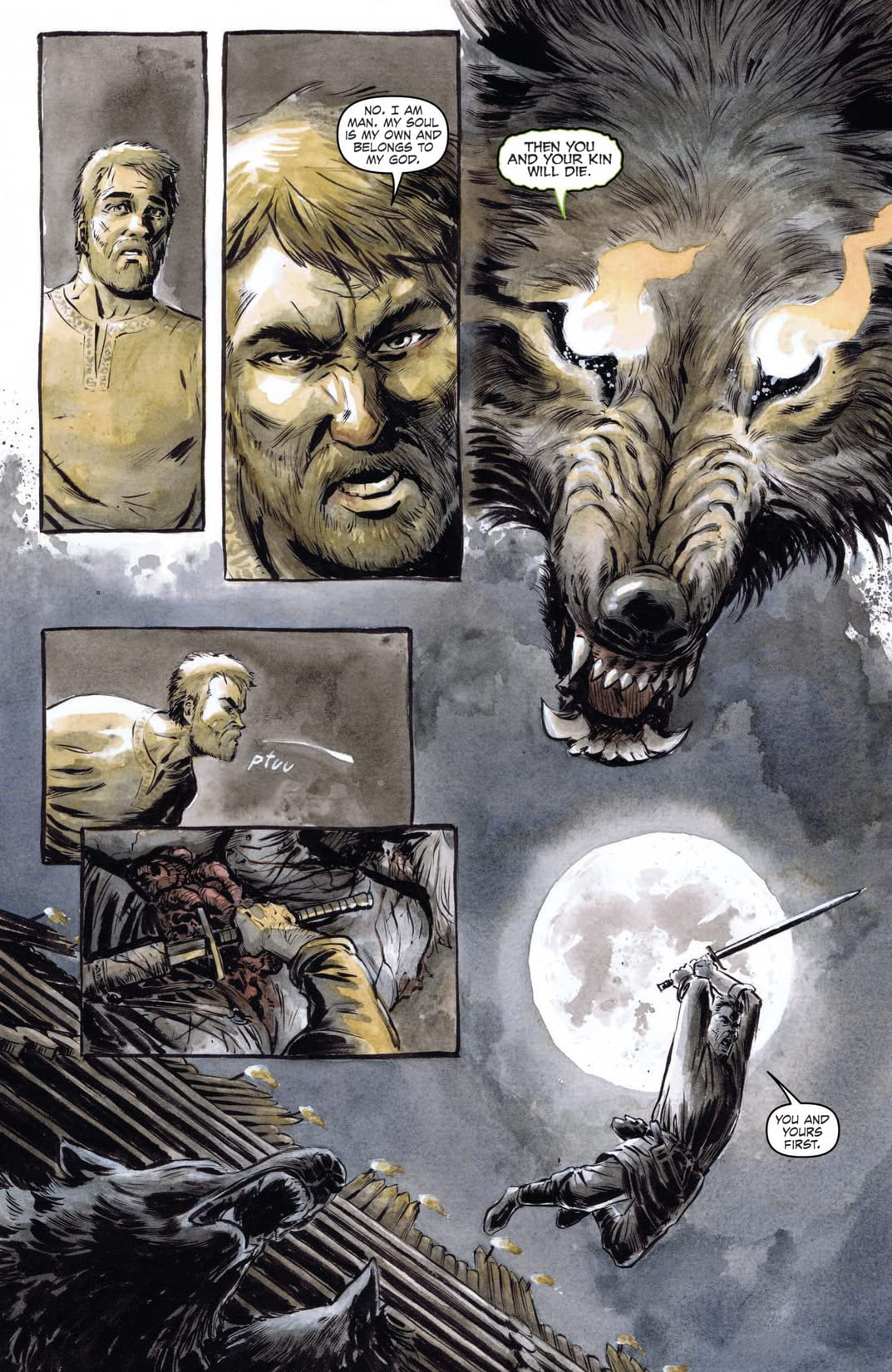 Night of 1,000 Wolves #3 (of 3)