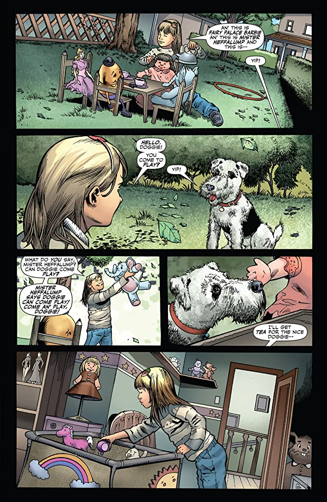 click for super-sized previews of Jennifer Blood Annual #1