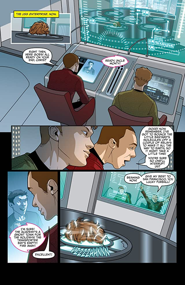 click for super-sized previews of Star Trek (2011-) #11