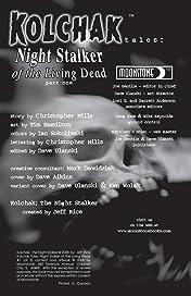 Kolchak Tales: Night Stalker of the Living Dead #1 (of 3)