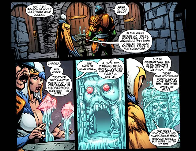 click for super-sized previews of Masters of the Universe #2