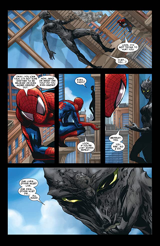 click for super-sized previews of Marvel Knights Spider-Man (2004-2006) #22