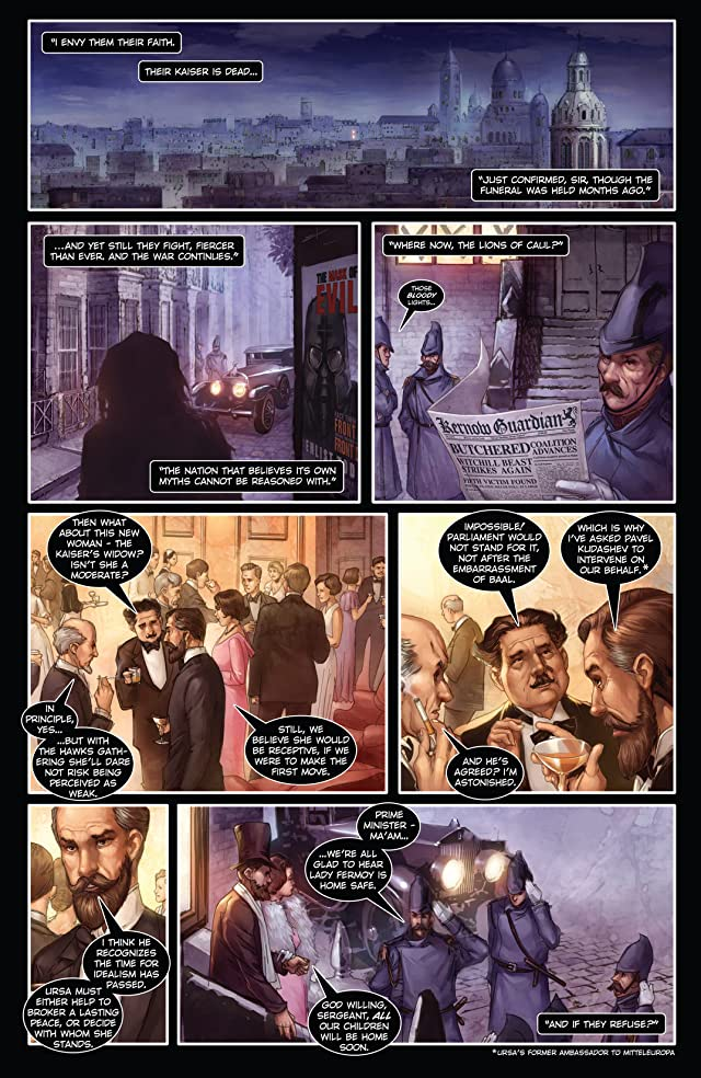 click for super-sized previews of Carbon Grey Vol. 2 #1