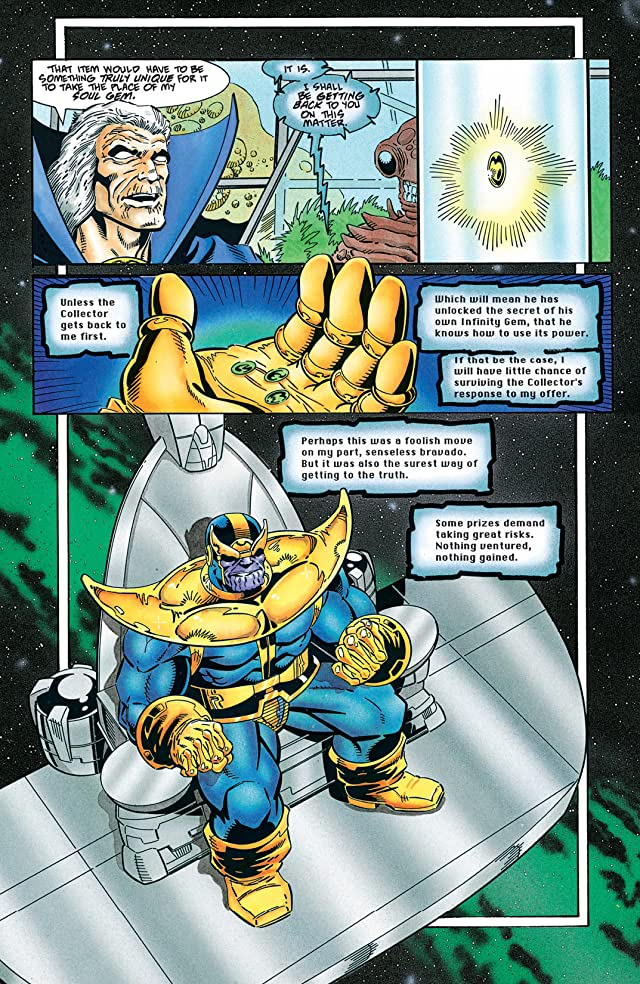 click for super-sized previews of Thanos Quest #2