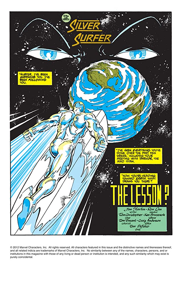 click for super-sized previews of Silver Surfer Vol. 3 #36