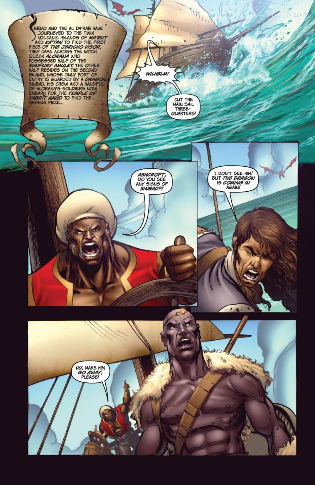 1001 Arabian Nights: The Adventures of Sinbad #3