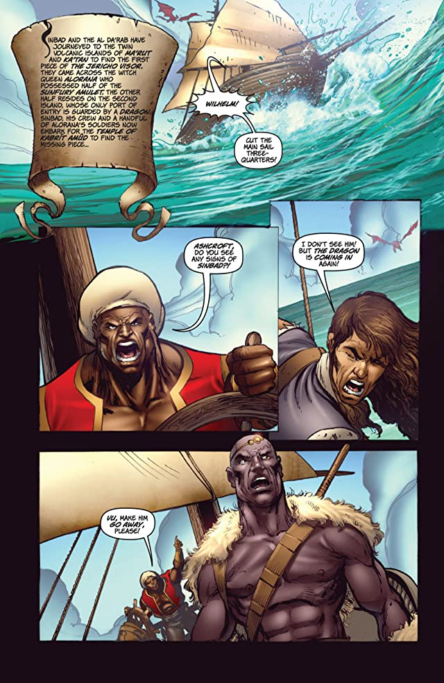 click for super-sized previews of 1001 Arabian Nights: The Adventures of Sinbad #3