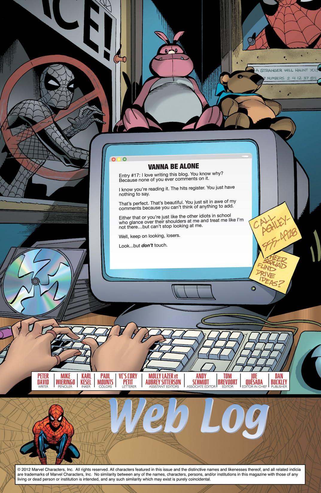 Friendly Neighborhood Spider-Man (2005-2007) #5