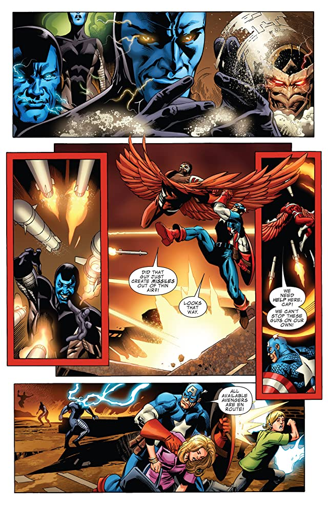 click for super-sized previews of Captain America (2011-2012) #15