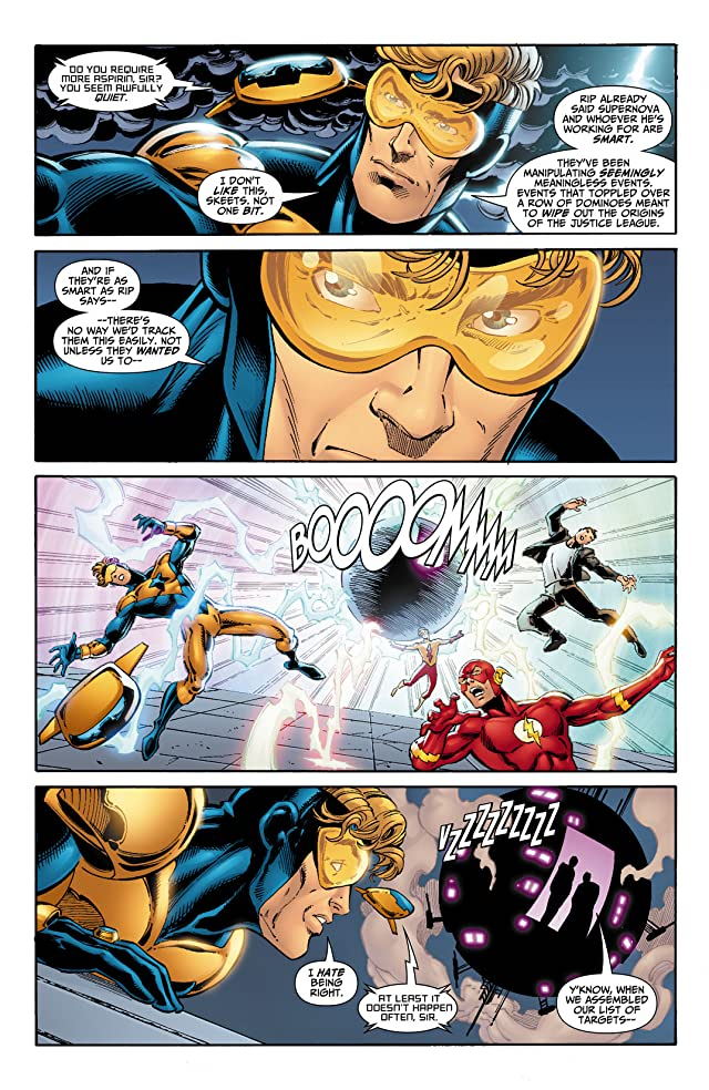click for super-sized previews of Booster Gold (2007-2011) #4