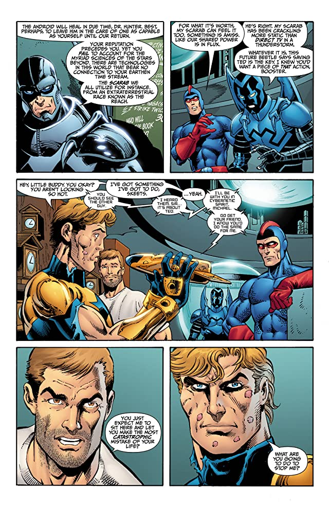 click for super-sized previews of Booster Gold (2007-2011) #6