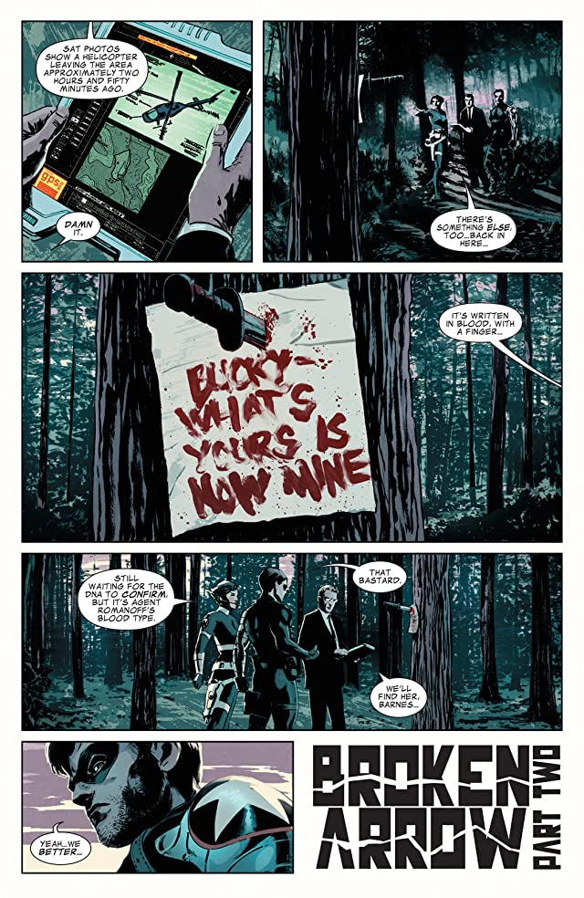 click for super-sized previews of Winter Soldier #8