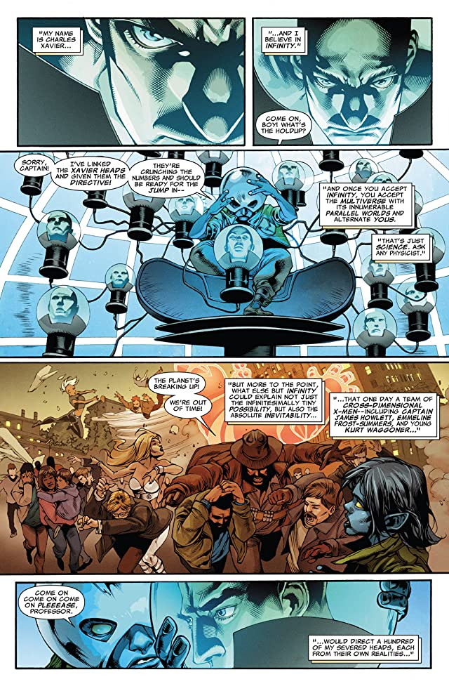click for super-sized previews of X-Treme X-Men (2012-2013) #1