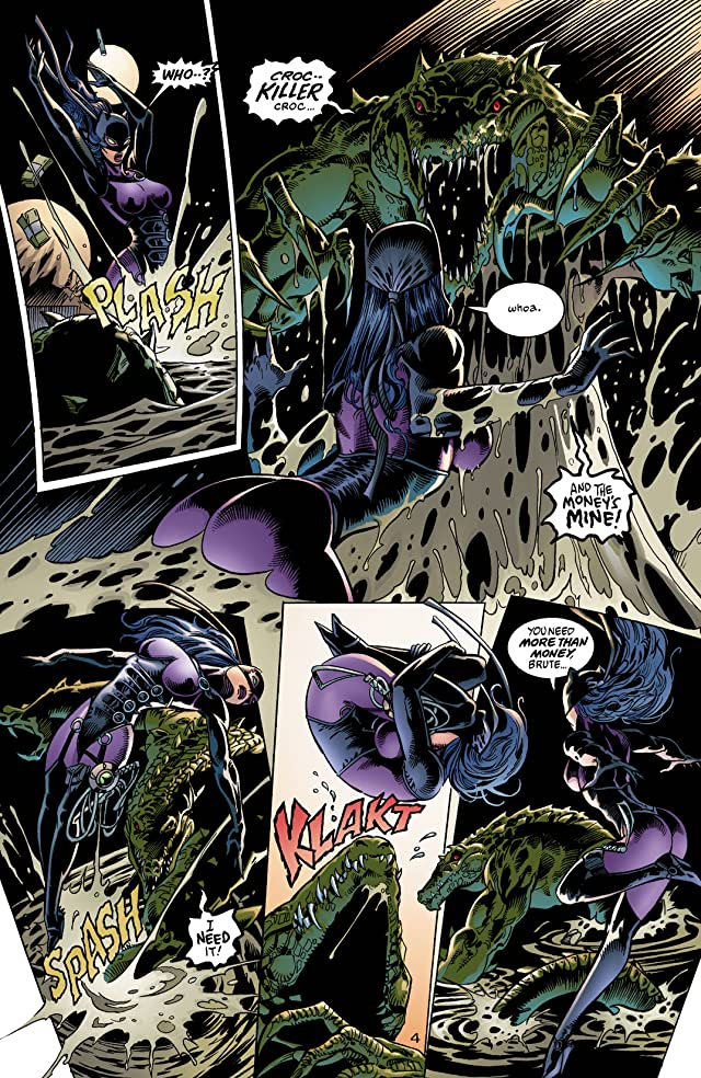 click for super-sized previews of DC Comics Presents: Catwoman - Guardian of Gotham #1