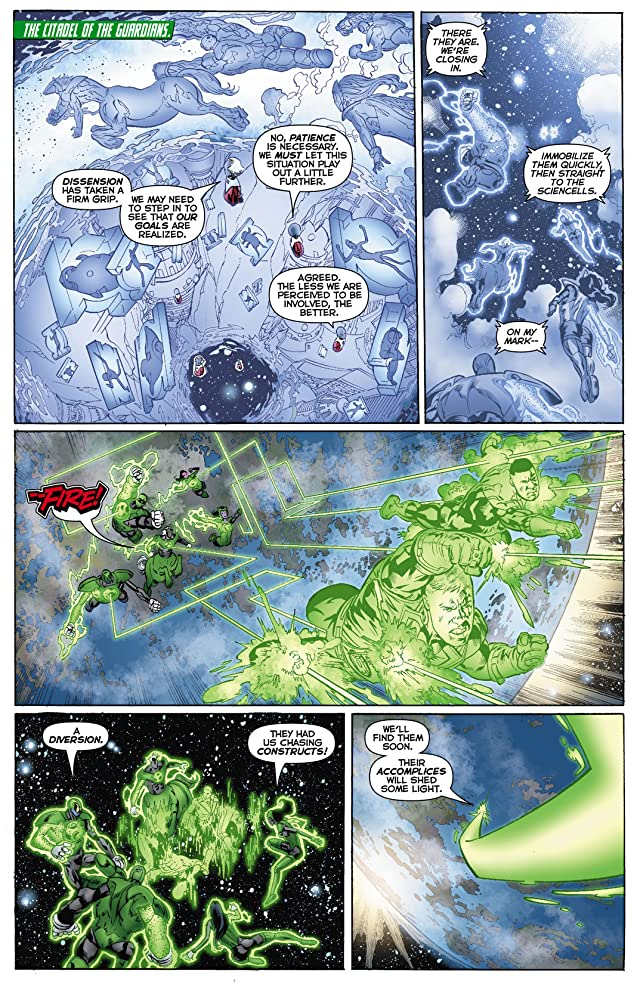 click for super-sized previews of Green Lantern Corps (2011-2015) #11