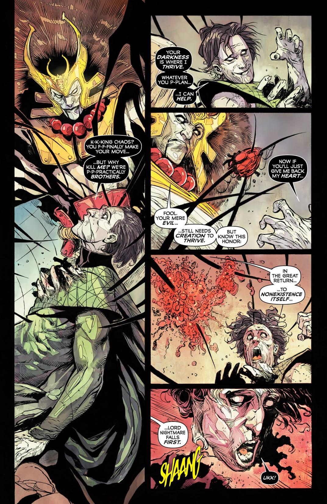 Chaos War #1 (of 5)