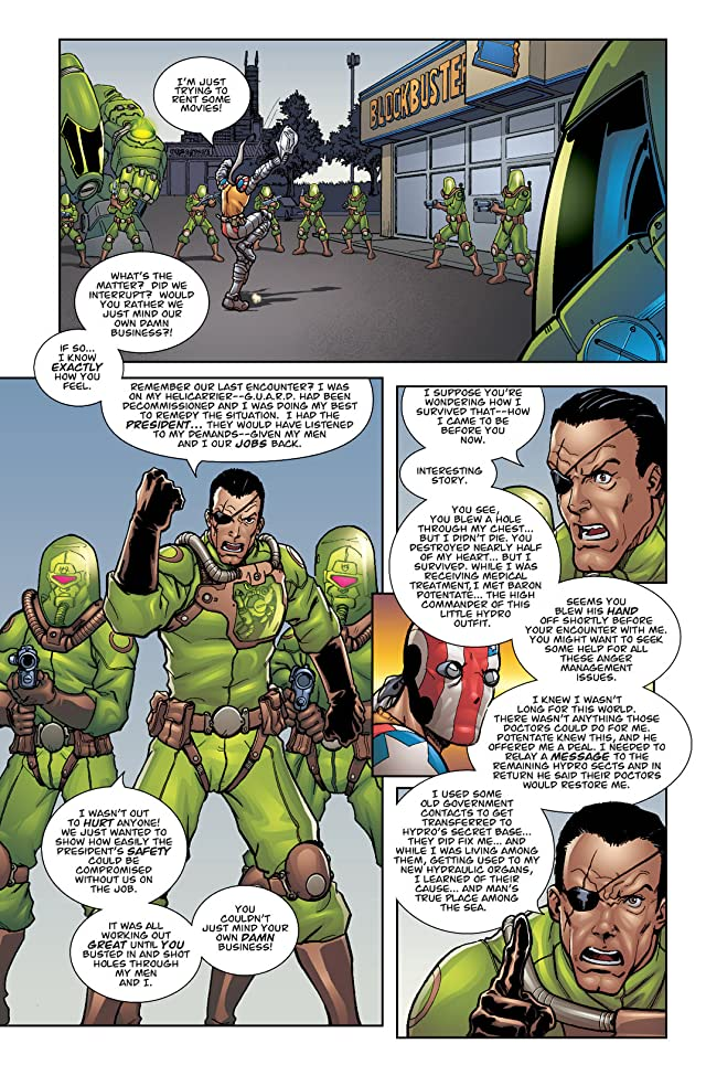 click for super-sized previews of Superpatriot: War on Terror #1 (of 4)