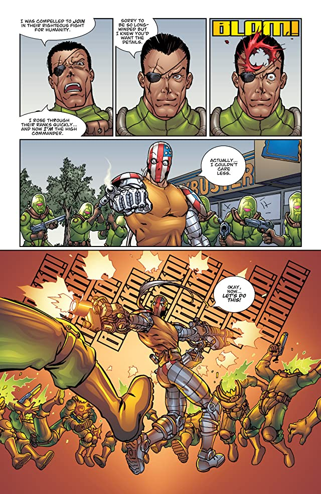 Superpatriot: War on Terror #1 (of 4)