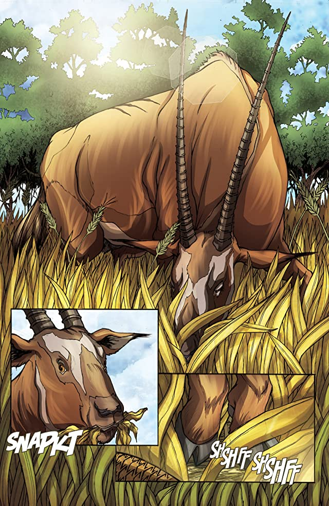 click for super-sized previews of The Jungle Book #4