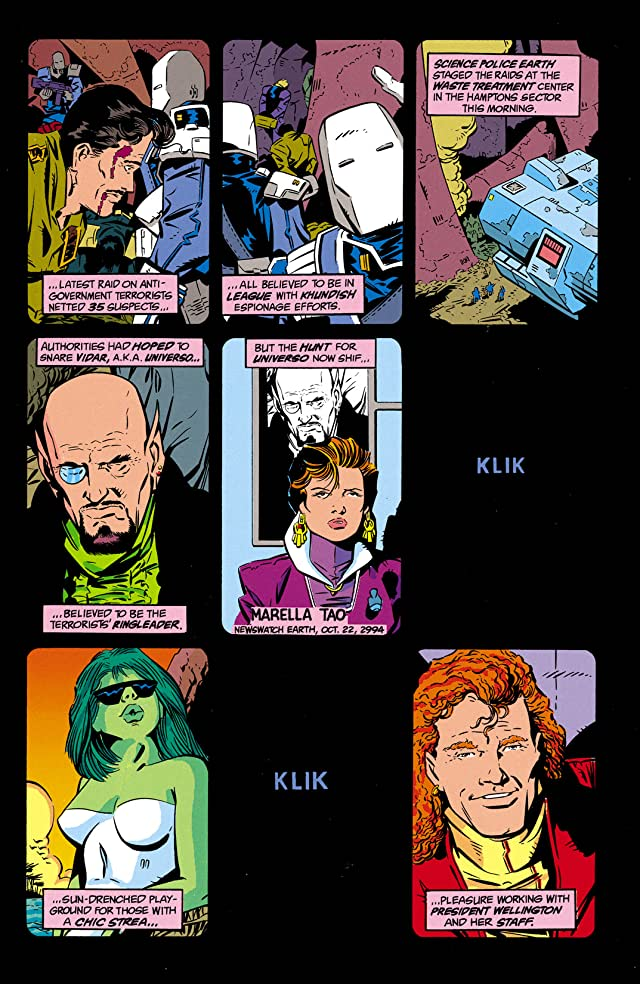 click for super-sized previews of Legion of Super-Heroes (1989-2000) #1