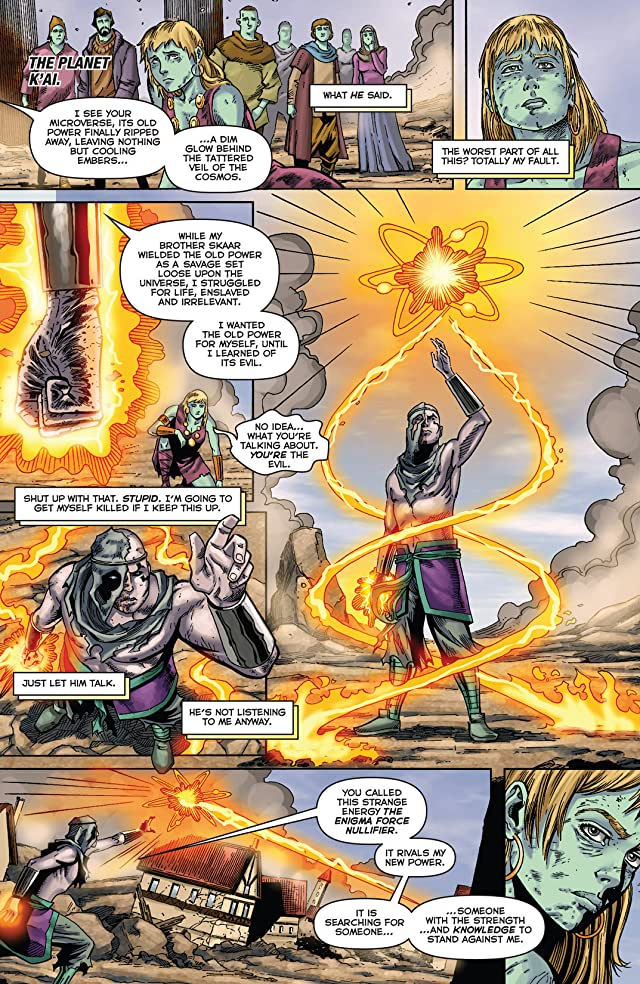 click for super-sized previews of Realm of Kings: Son of Hulk #4