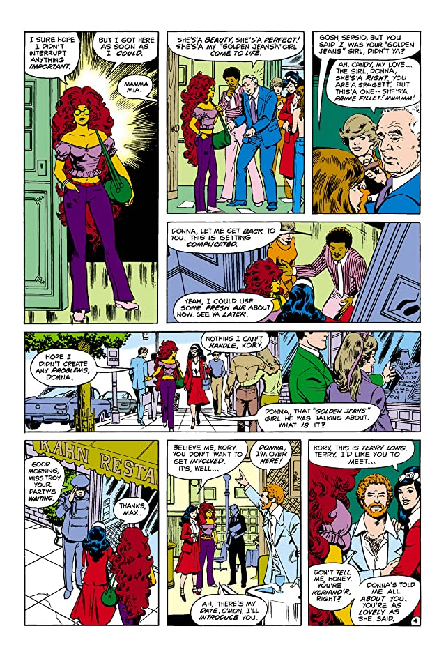 click for super-sized previews of New Teen Titans (1980-1988) #8