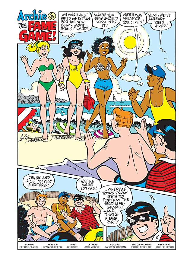click for super-sized previews of Archie & Friends Double Digest #18