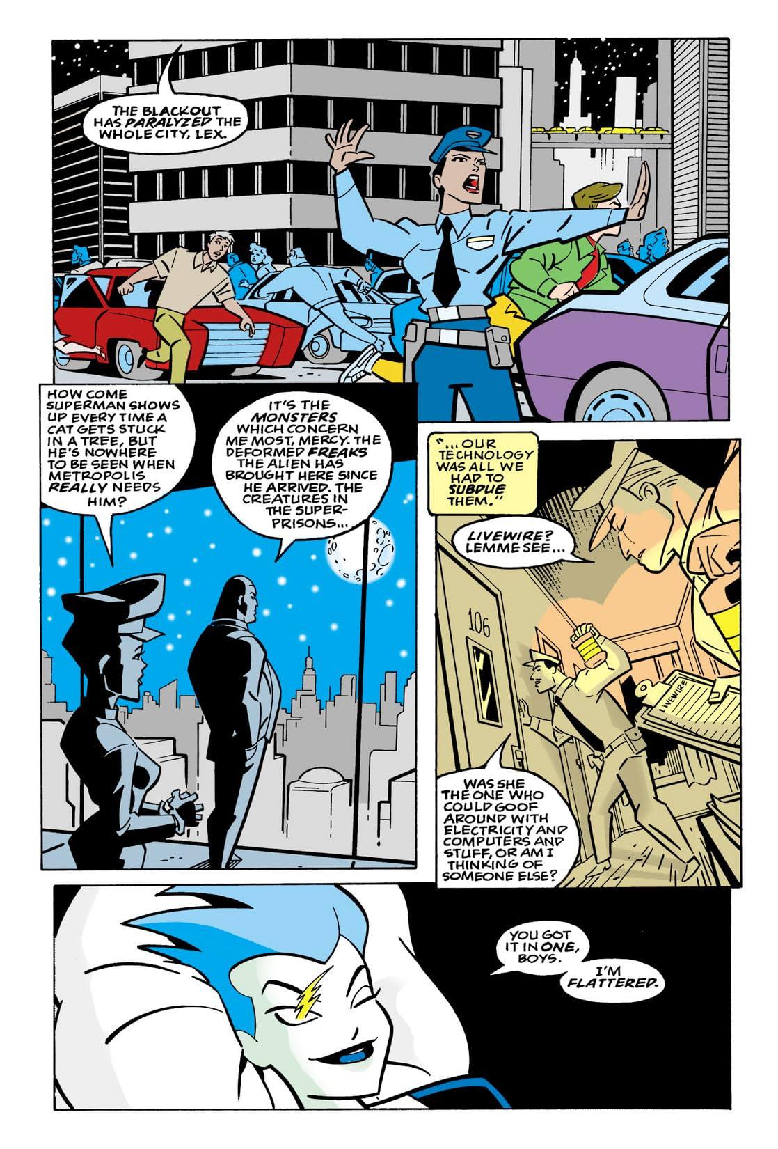 Superman Adventures (1996-2002) #23