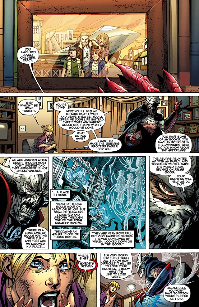 click for super-sized previews of Justice League (2011-) #11