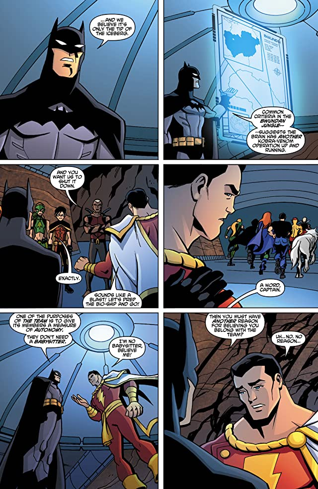 click for super-sized previews of Young Justice (2011-2013) #18