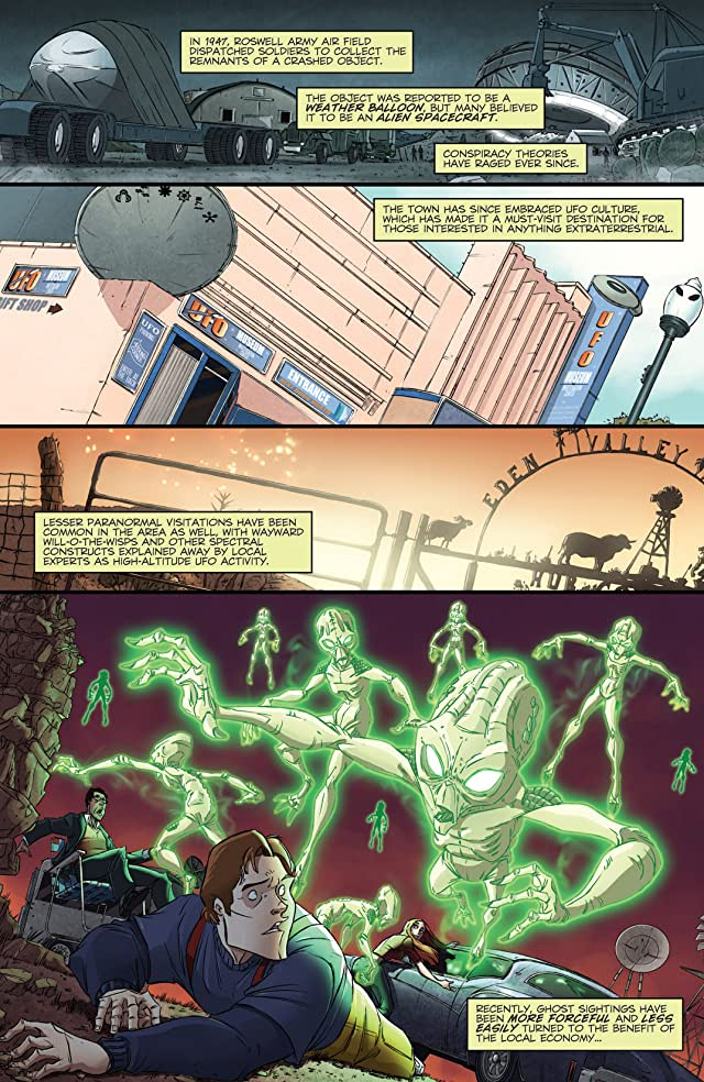 click for super-sized previews of Ghostbusters (2011-2012) #11