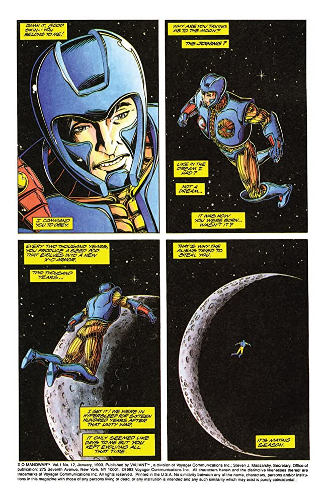 click for super-sized previews of X-O Manowar (1992-1996) #12