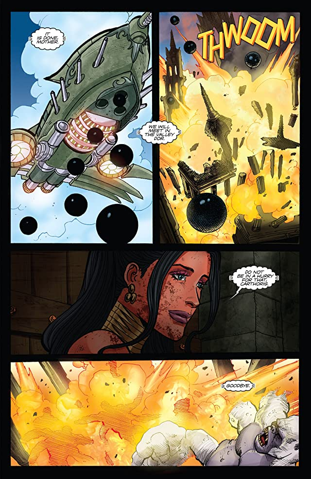 click for super-sized previews of Dejah Thoris and the White Apes of Mars #4