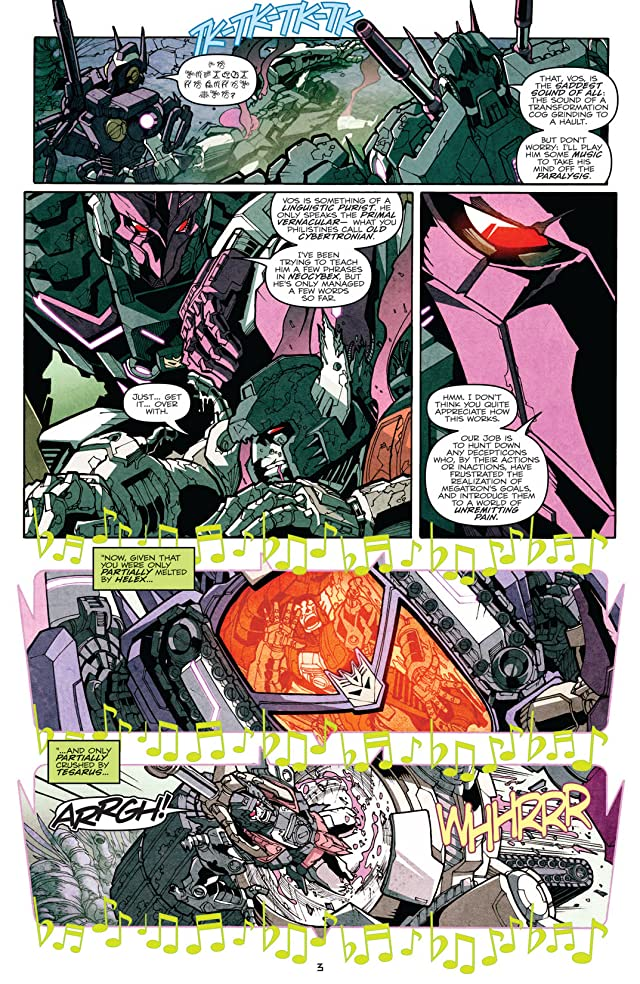 Transformers: More Than Meets the Eye (2011-) #7