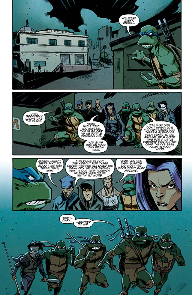 click for super-sized previews of Teenage Mutant Ninja Turtles #12