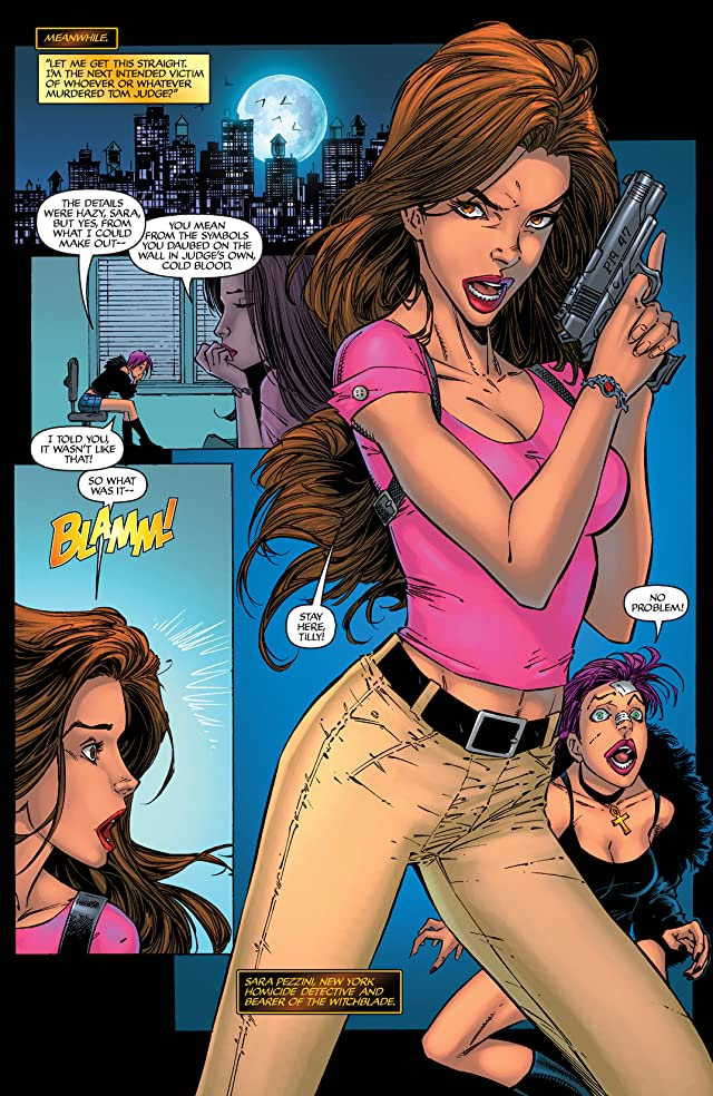 click for super-sized previews of Witchblade #79