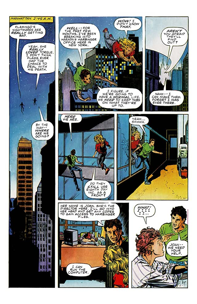 click for super-sized previews of Harbinger (1992-1995) #12