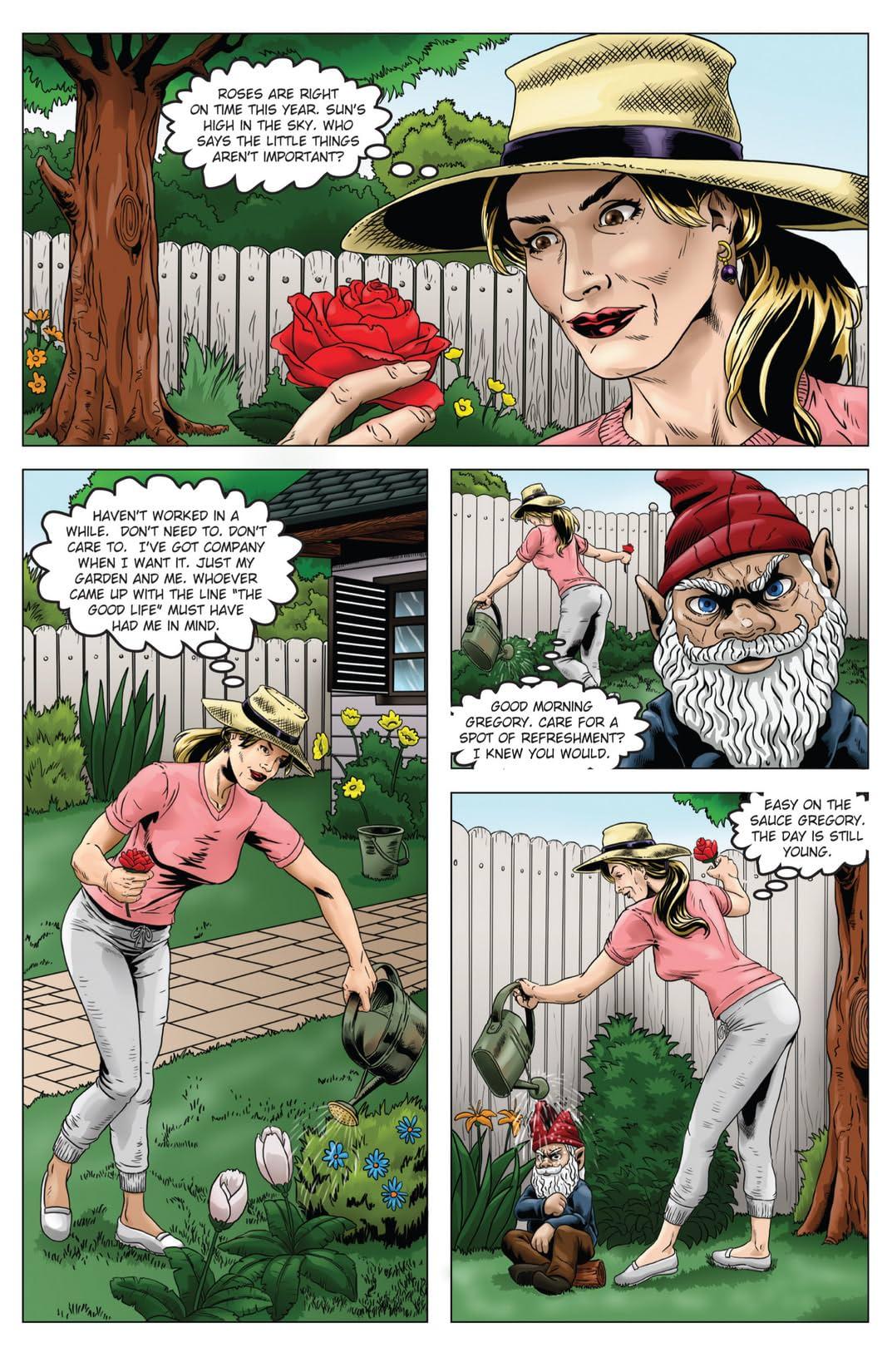 Secret Lives of Julie Newmar #1 (of 4)