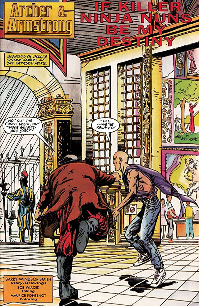 Archer & Armstrong (1992-1994) #4