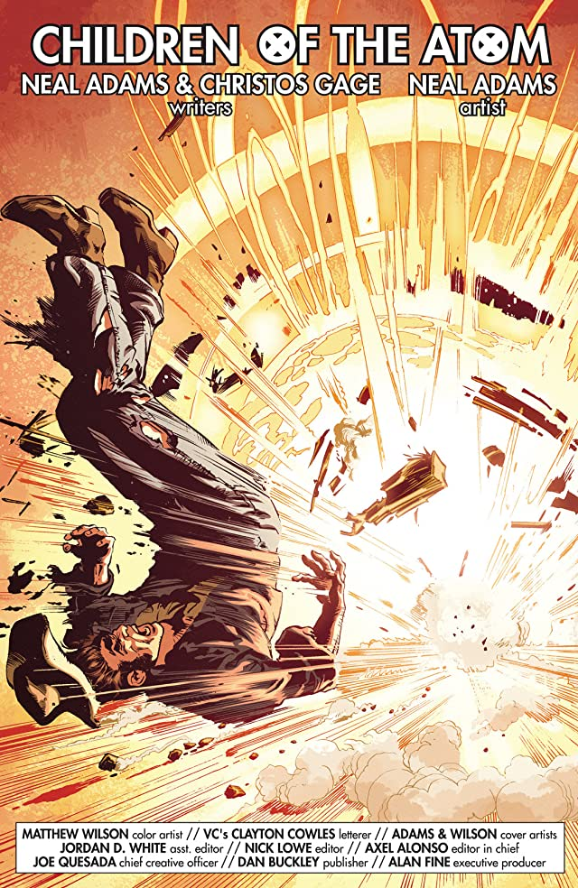click for super-sized previews of First X-Men #1