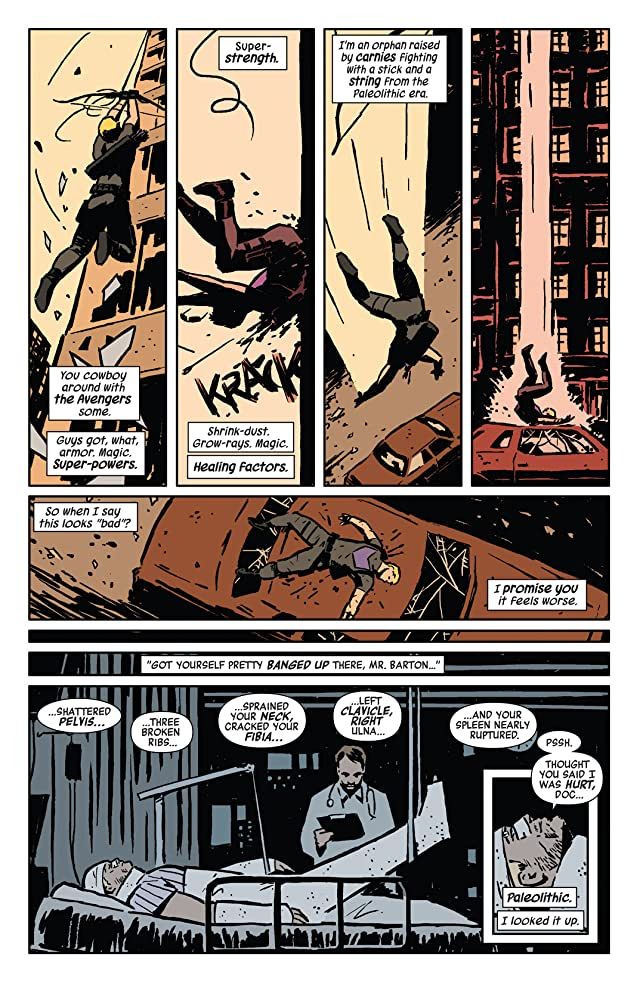 click for super-sized previews of Hawkeye (2012-2015) #1