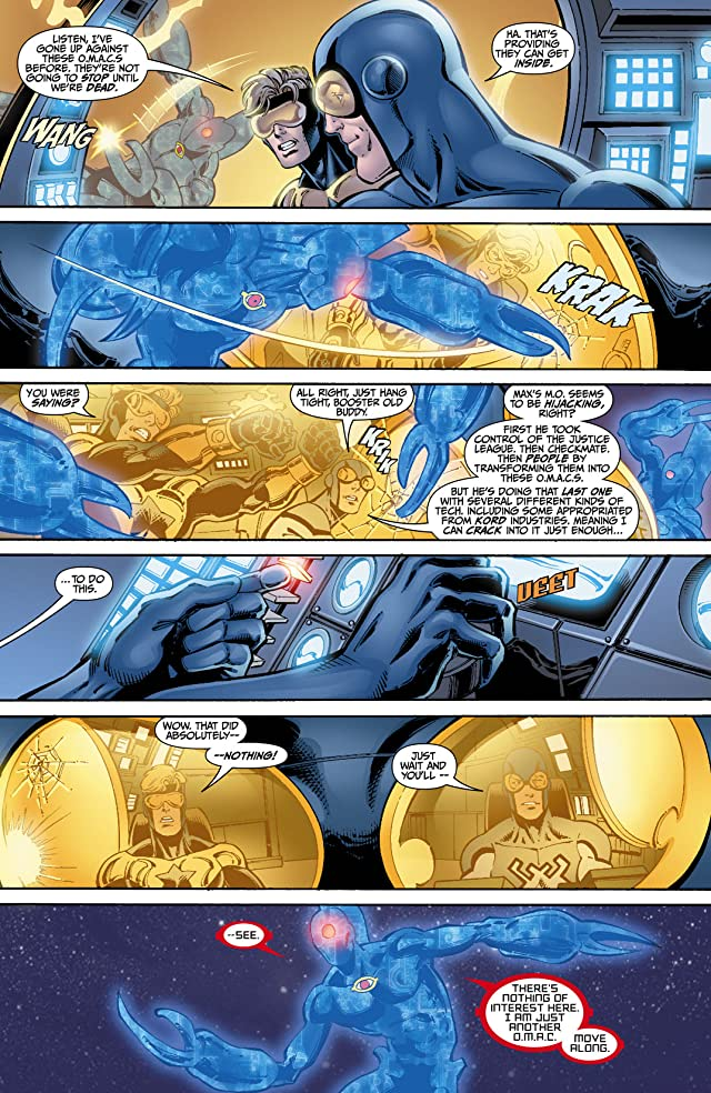 click for super-sized previews of Booster Gold (2007-2011) #7