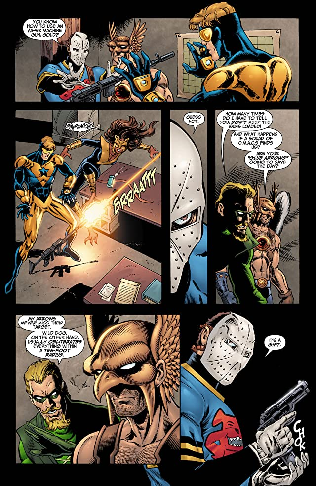 click for super-sized previews of Booster Gold (2007-2011) #8
