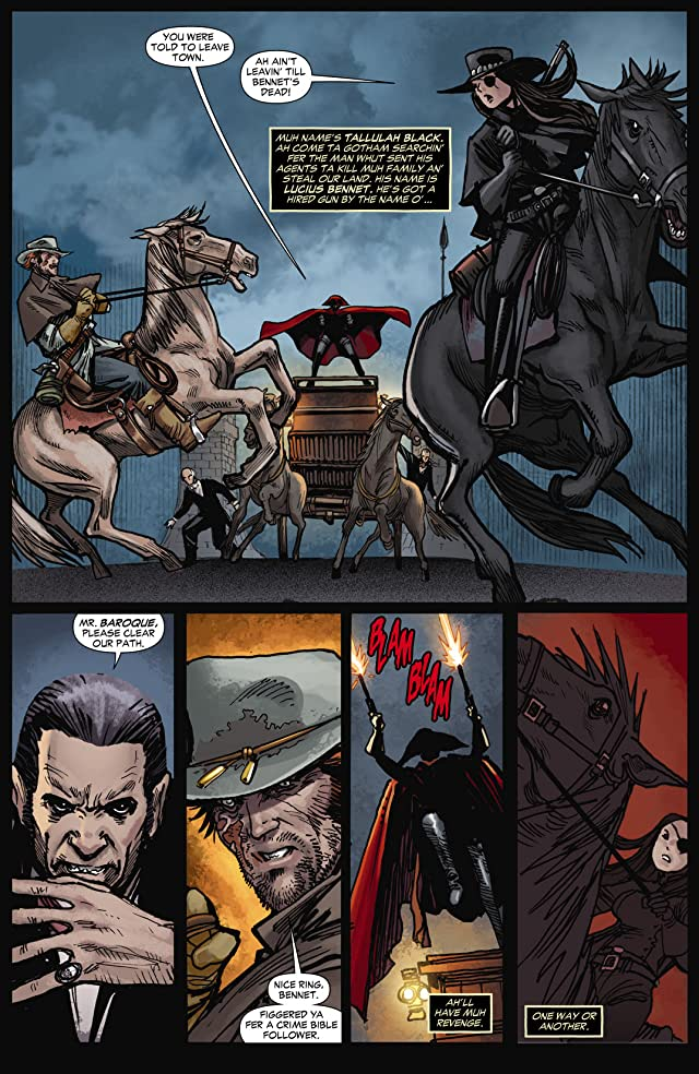 click for super-sized previews of All Star Western (2011-2014) #11